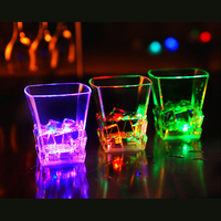 Lighting Wineglass Party Glasses Remanbar Induction Flashing Cola Drink Beverage Cup Wedding Decoration Party Decoration