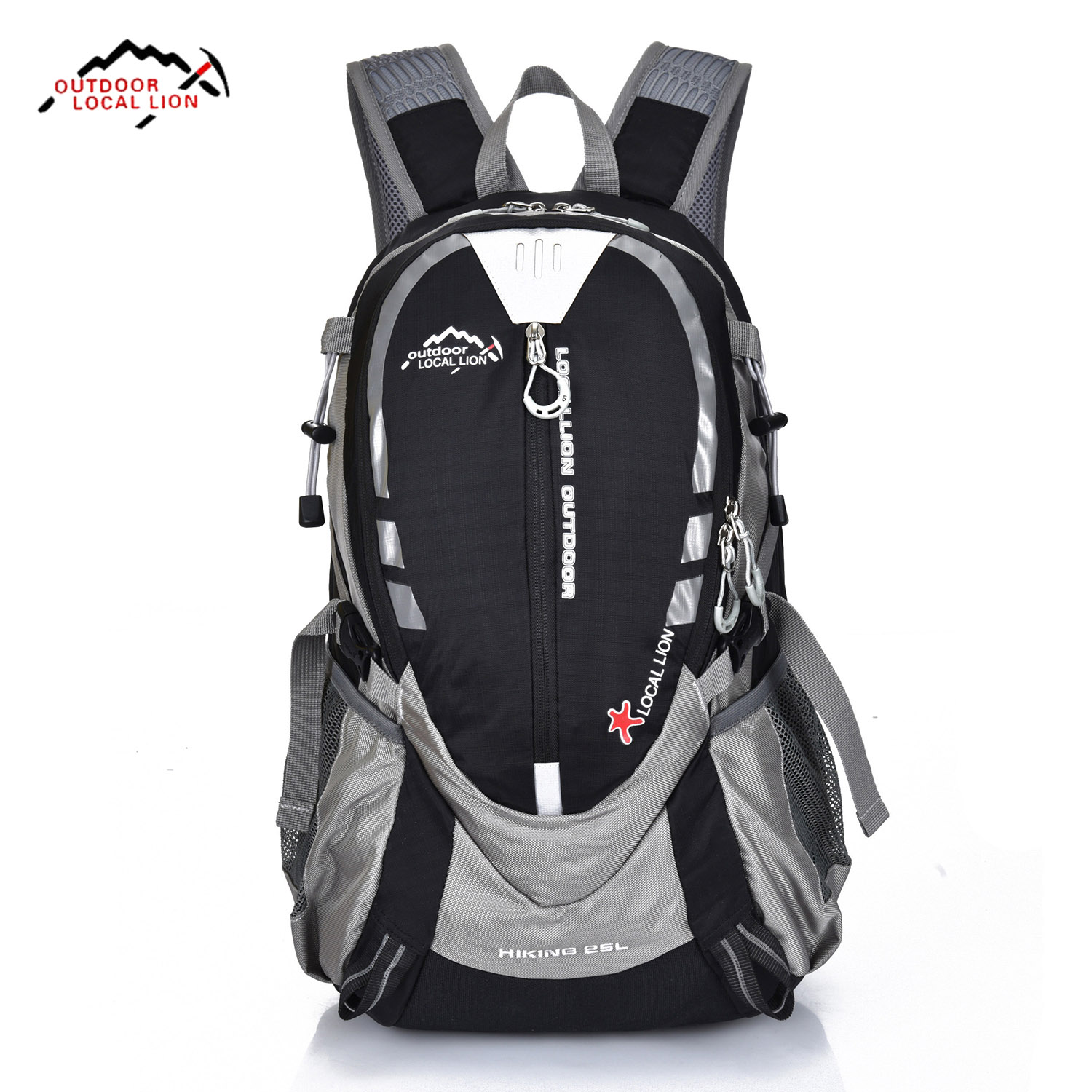 Outdoor 25L Hiking Backpack Waterproof Nylon Man Cycling Bags Women <font><b>Mountaineer</b></font> Camping Bag Unisex Sport Trekking Backpacks