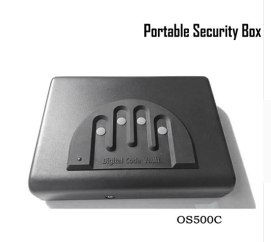 Password Safe Gun Box Solid Steel Security Combination Lock Key Safe Gun Box Money Valuables Jewelry Strongbox OS500C цены онлайн