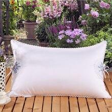 цены Jane YU Cotton Lavender Beauty Pillow Feather Velvet Hotel Gift Wholesale Pillow