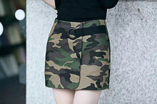 New Summer Hot 2017 Cultivate One's Morality Women Fashion Sexy Joker Military Camouflage Skirts Women Skirt Package Hip Skirt