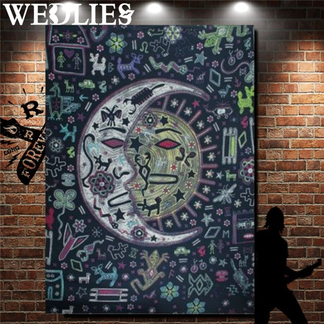 couvre lit street home Indien Mandala Couvre lit Jeter Couverture 210X150 cm Bohème  couvre lit street home