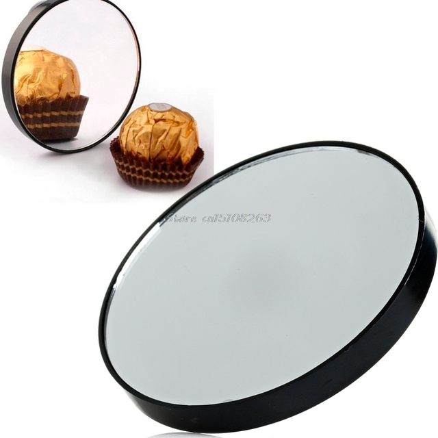 Magnifying Mirror 10x Suction Cup Makeup Compact Cosmetic Shave Travel Y207e Hot