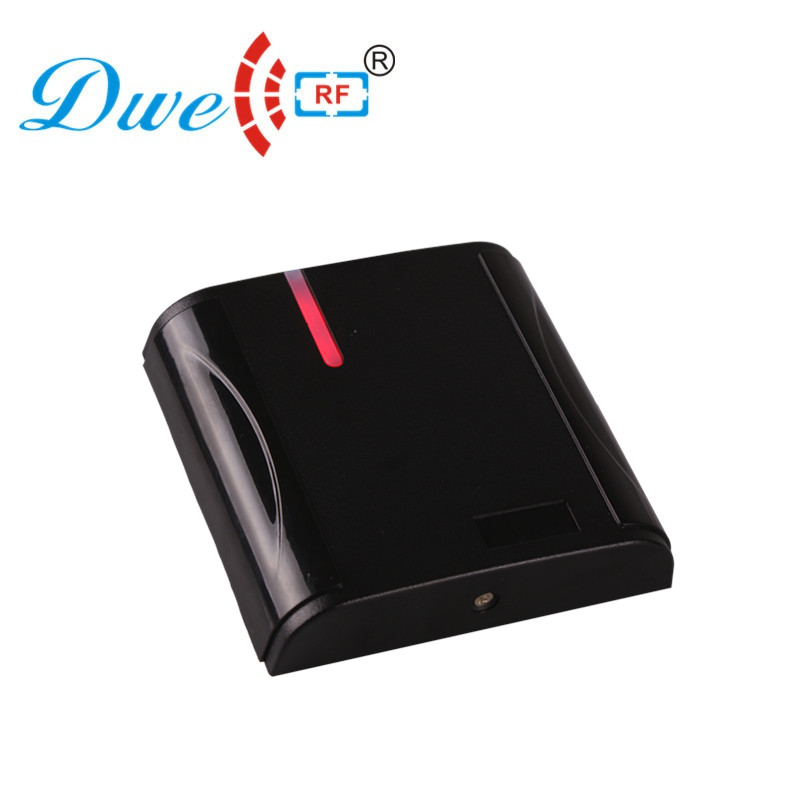 DWE CC RF Free shipping new 2018 rf id reader rfid protection wiegand 26 125khz access card reader door 12V dwe cc rf free shipping rainproof 12v passive id rfid reader wiegand 26 for door access control system