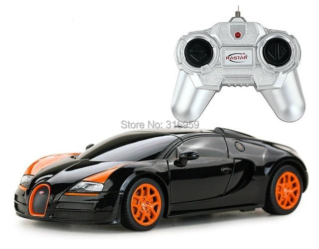 Novo modelo de carro RC 1:24 para Bugatti Veyro alta velocidade corrida de carros de controle remoto carro esporte brinquedos e Hobbies