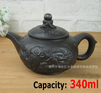 Hot Sale Yixing Teapot 340ml Large Kettle Kung Fu Tea Pot Chinese Handmade Ceramic Zisha Porcelain