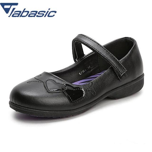 547b77b8 Zapatos de las muchachas de JABASIC Zapatos de vestir de la escuela para  las niñas gancho ...