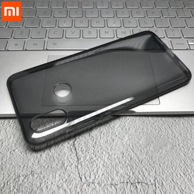 Original Xiaomi mi 8 funda de silicona suave TPU funda mi A2 trasera para Xiaomi mi 8 mi A2 6X funda de teléfono a prueba de golpes de protección completa