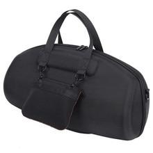 Для JBL Boombox портативный водонепроницаемый динамик Жесткий сумка-чехол защитная коробка (черный)