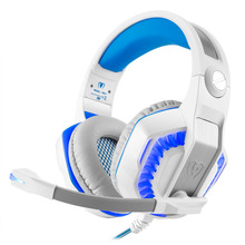 Professional Gaming Headphone Stereo Headband Deep Bass Game Headsets PC Gamer With Microphone LED Light For PC PS4 XBOX ONE 360