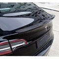 Для Tesla Model 3 2017-2020 спойлер заднего крыла  спойлер багажника Boot Wings из углеродного волокна 3M коллоидная установка