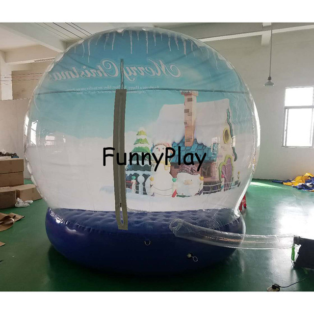 party tents for christmas decorationinflatable snowball diy snow globle tentblow up bubble