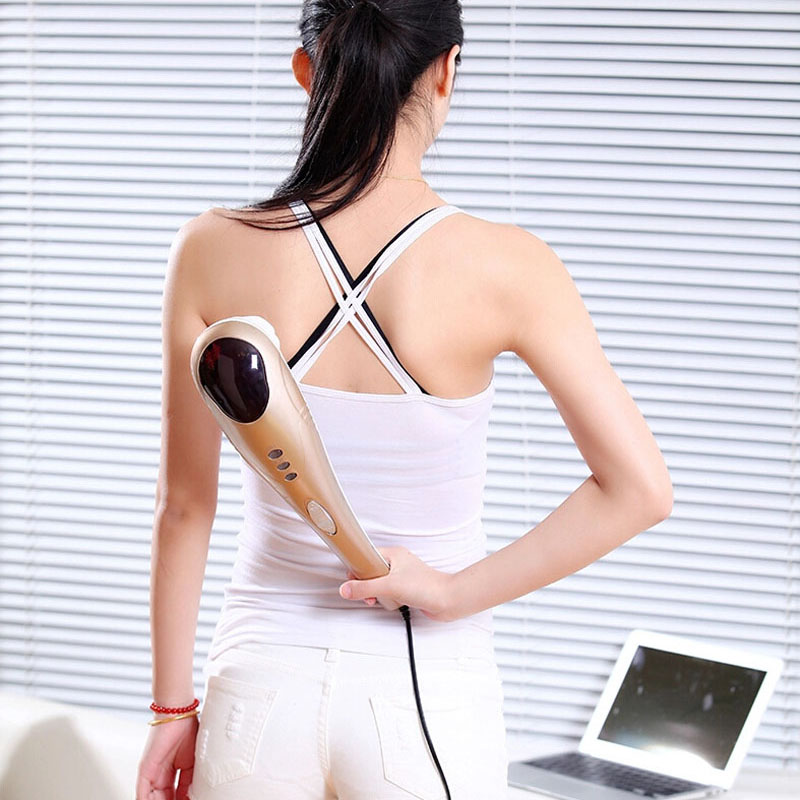 Dolphin Massage Stick font b Body b font Massager Infrared massage Device Beauty health font b