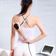 Dolphin Massage Stick Body Massager Infrared massage  Device Beauty health care Chinese Massage stick Relax Instrument