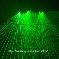 Hot Sale Green Laserman Show Gloves With 5 Pcs Green Lasers For Stage DJ Laser Dance