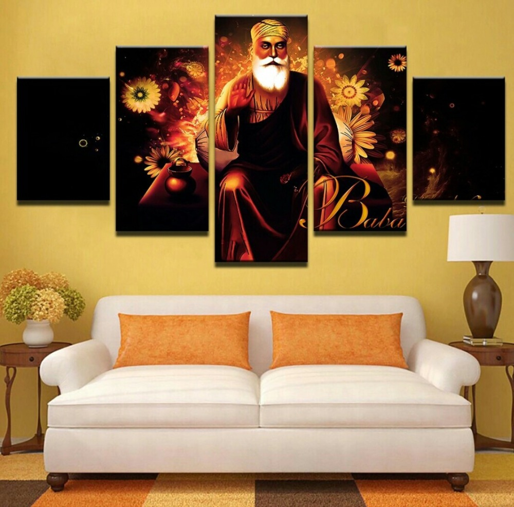 Canvas print painting wall art picture for living room HD prints 5 ...