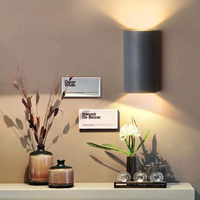 6 ワット 10 ワット Led ウォールランプが点灯装飾 COB ポイントライト屋内屋外ライト防水ホール寝室玄関ホーム現代アートの装飾|LED 室内壁掛け照明|   -