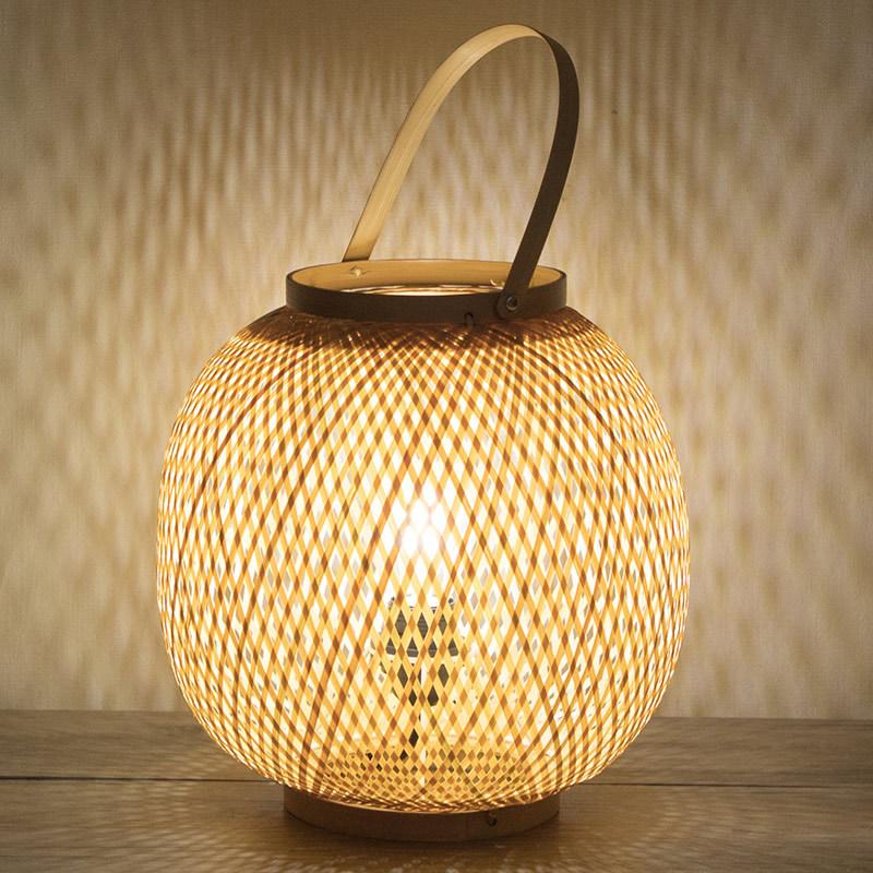 Table Lamp Bamboo Art Garden