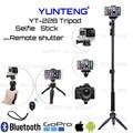 Cámara de fotos/video bluetooth remoto premium yunteng palo monopod del trípode para samsung s5 s7 s6 edge plus nota 7/para sony m4 z3 z2