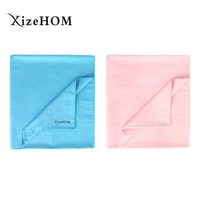 XizeHOM Beach towels for Adult Microfiber Square Fabric Quick drying Travel Sports towel ( 80*180cm/2pcs/2color)