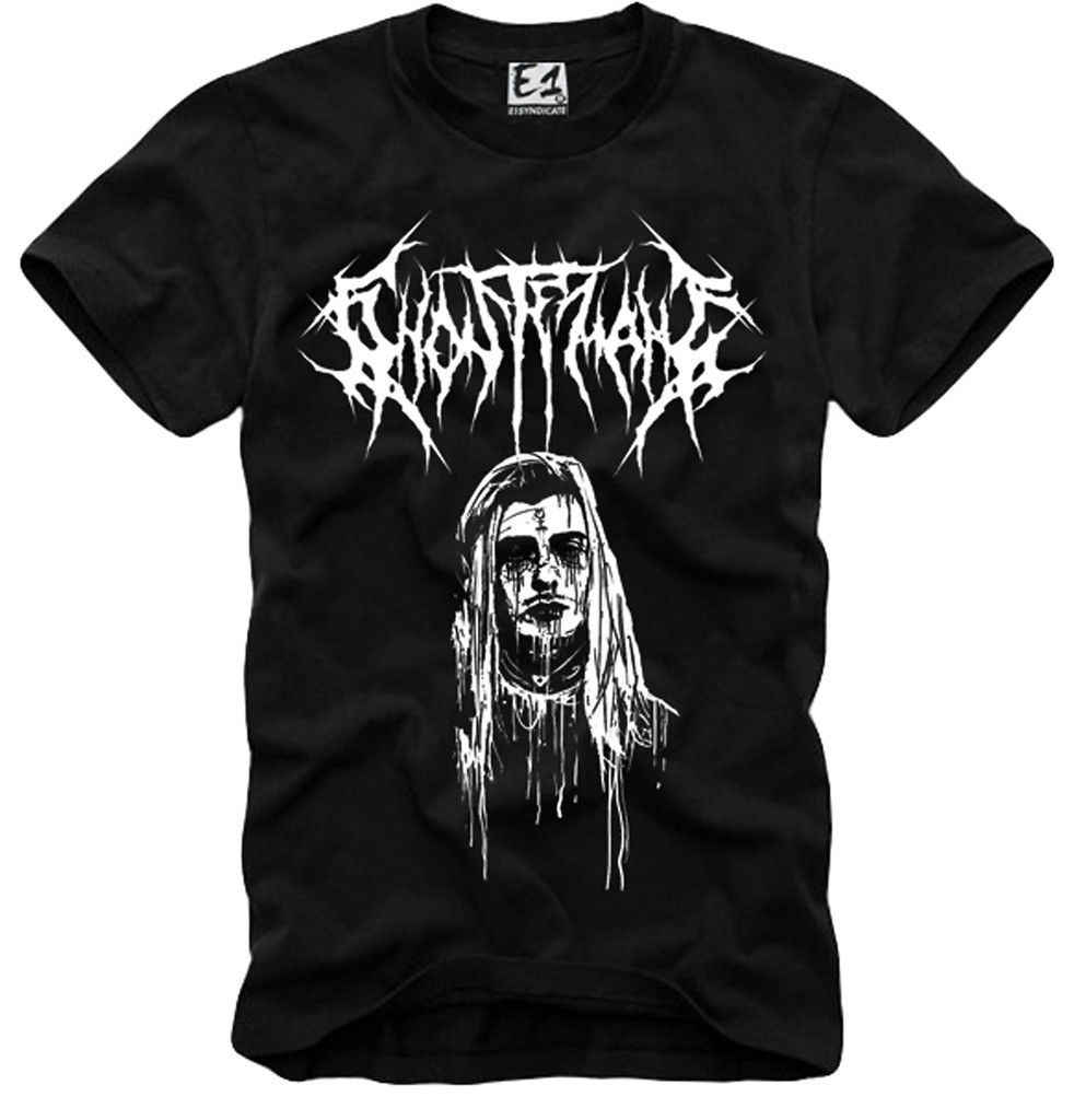 E1SYNDICATE T SHIRT GHOSTEMANE LIL PUMP UZI XAN YACHTY POUYA GBC PEEP 3580  Cool Casual pride t shirt men Unisex New Fashion