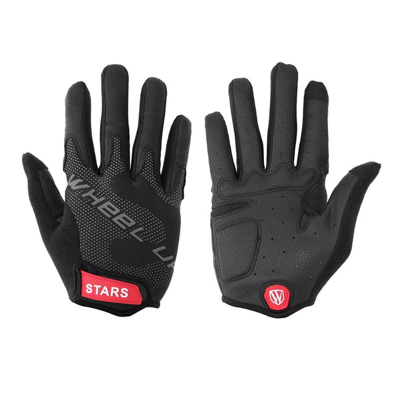 1 Pair Winter Cycling Gloves Touch Screen GEL Bike Gloves Men Woman Outdoor Sport Shockproof MTB Road Full Finger Bicycle Glove