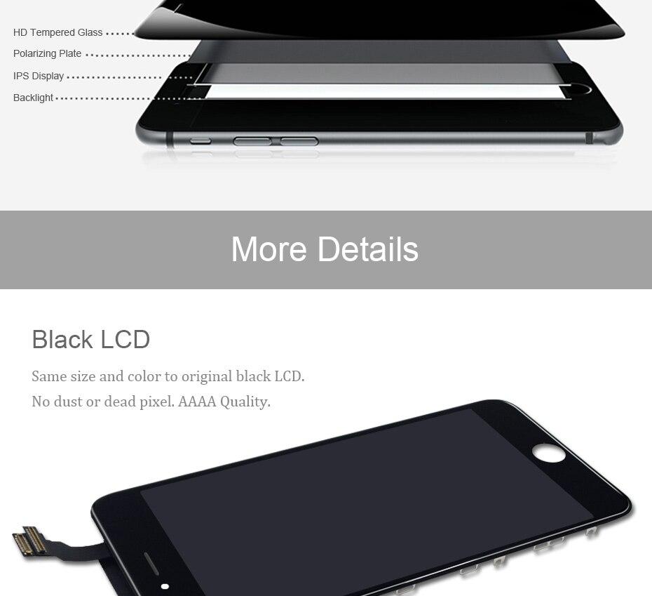HTB1XT3aP4TpK1RjSZR0q6zEwXXaW 2019 100% AAAA 3D Touch Screen Original LCD For iPhone 7 6 6s 5s 5 LCD Display Digitizer No Dead Pixel Touch Replacement Screen