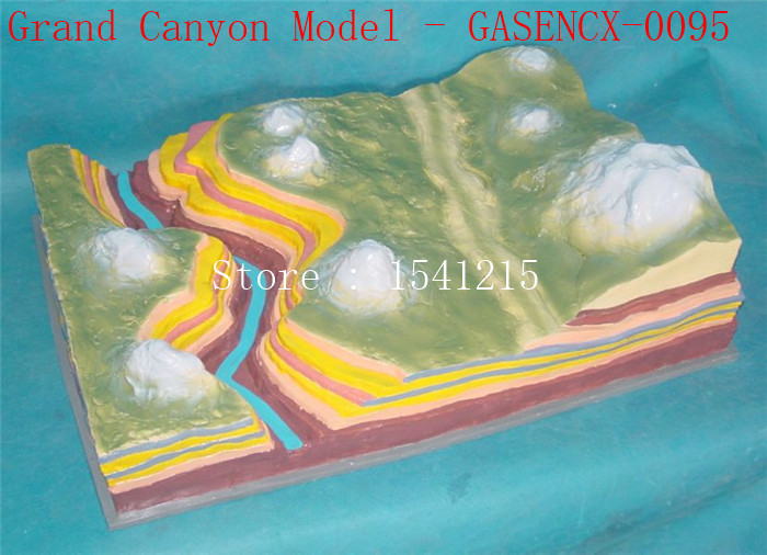 Fold structure Geomorphic evolution model Terrain Geomorphology Geology geography Crustal Grand Canyon Model - GASENCX-0095 where is the grand canyon