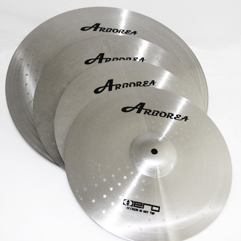 ARBOREA Practice  Hero series Cymbal Set best sell practice alloy cymbal set for beginners