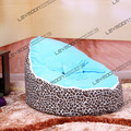 FREE SHIPPING baby bean bag with 2pcs sky blue up covers baby bean bag chair children bean bag no filler bean bag seat cover
