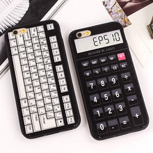 Luxury Vintage Calculator Cassette Recorder PC Hard Case Phone Cover for iPhone 6 6s Covers Back