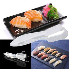 цена на DIY Plastic Press Type Sushi Maker Mold Japanese Food Sushi Mold Rice Meat Vegetables Making Tools Kitchen Accessories