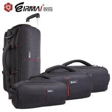 цены на EIRMAI High Qulaity Multi-function Camera Bag Draw-Bar Box and Backpacks Portable DSLR Photography Accessories Outdoor  в интернет-магазинах