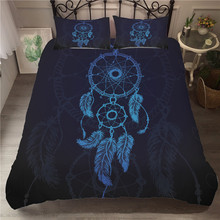 Bedding Set 3D Printed Duvet Cover Bed Dreamcatcher Bohemia Home Textiles for Adults Bedclothes with Pillowcase #BMW06