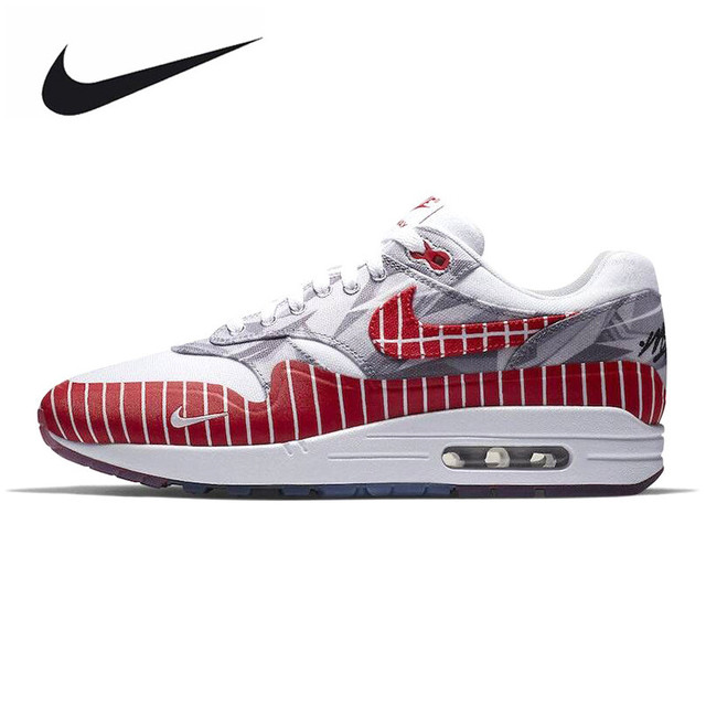 timeless design 2cff2 55a43 new zealand nike air max 1 lhm los primeros hombres blanco mujer running  zapatos blanco hombres