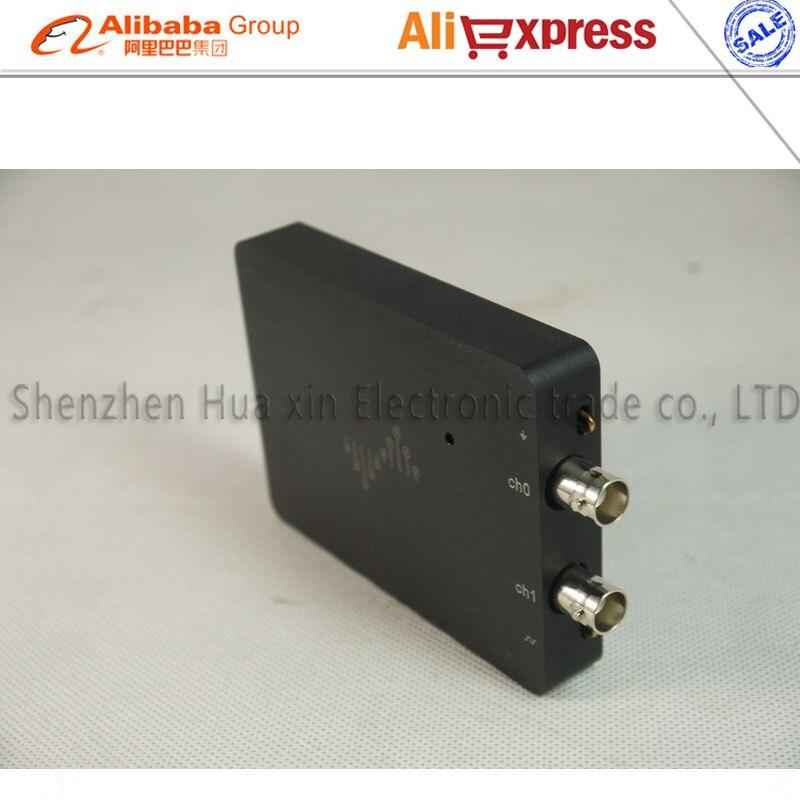 Kostenloser versand dual kanal DSCope analog ultra tragbare oszilloskop 50 mt bandbreite 200 mt probenahme USB power versorgung - 4