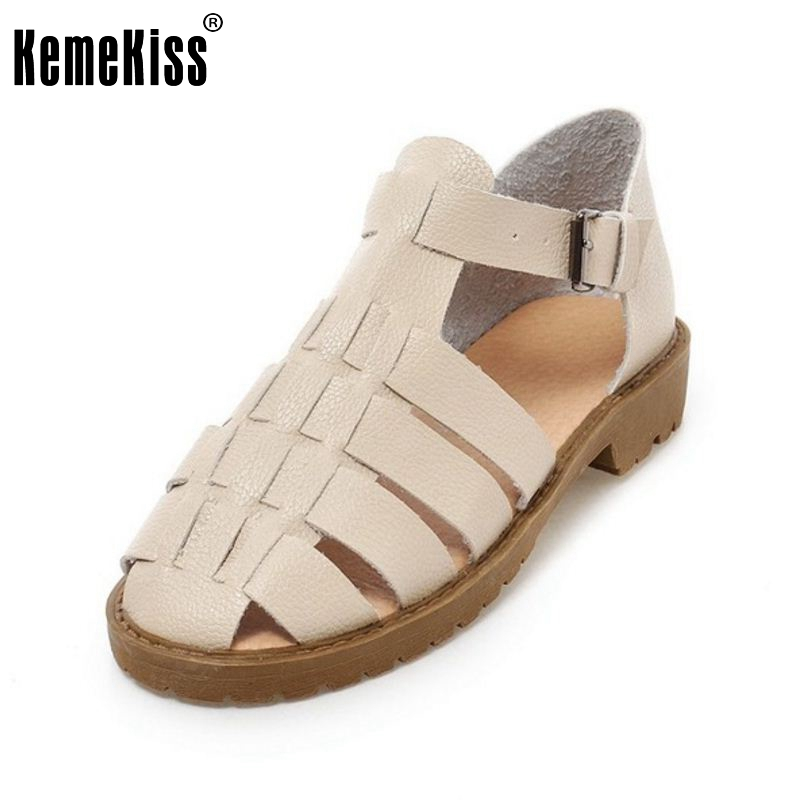 Women Flats Gladiator Sandals Ankle Strap Shoes T-Strap Ladies Quality Fashion British Student Style Shoes Size 34-42 PA00545 women flat sandals fashion ladies pointed toe flats shoes womens high quality ankle strap shoes leisure shoes size 34 43 pa00290