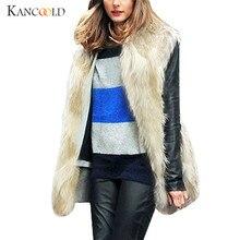 Jacket Winter Warm 2018 Coat Faux Fur jackets Jumper Parka Bomber girls  Sleeveless Cardigans Overcoat Coats Solid Outwear NO3A 9a622bd21f8e
