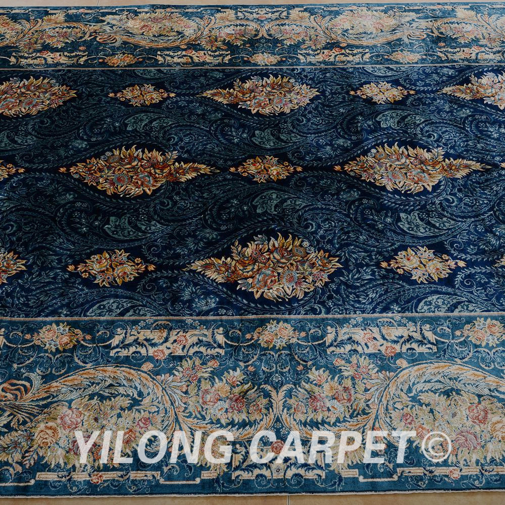 Yilong 5.6'x8 'Αντίκα χειροποίητο περσικό - Αρχική υφάσματα - Φωτογραφία 4