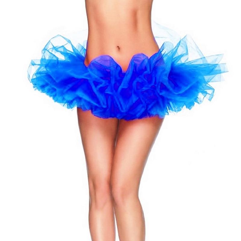 2015 Nye High Quality Sexy Kvinder Mini Fancy Tutu Nederdel Fluffy 6 - Dametøj - Foto 1