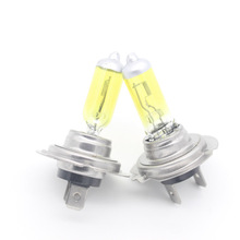 Dongzhen 2X H7 Halogen Bulb DRL Head Light  Running Daytime Running Driving Light Fog Light Source DRL  Automobiles 55W