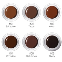 2019 Eyebrow Gel 3D Natural Brown Eye Brow  Cream Shade Make Up Professional Long Lasting Brow Paint Cosmetics With Brush