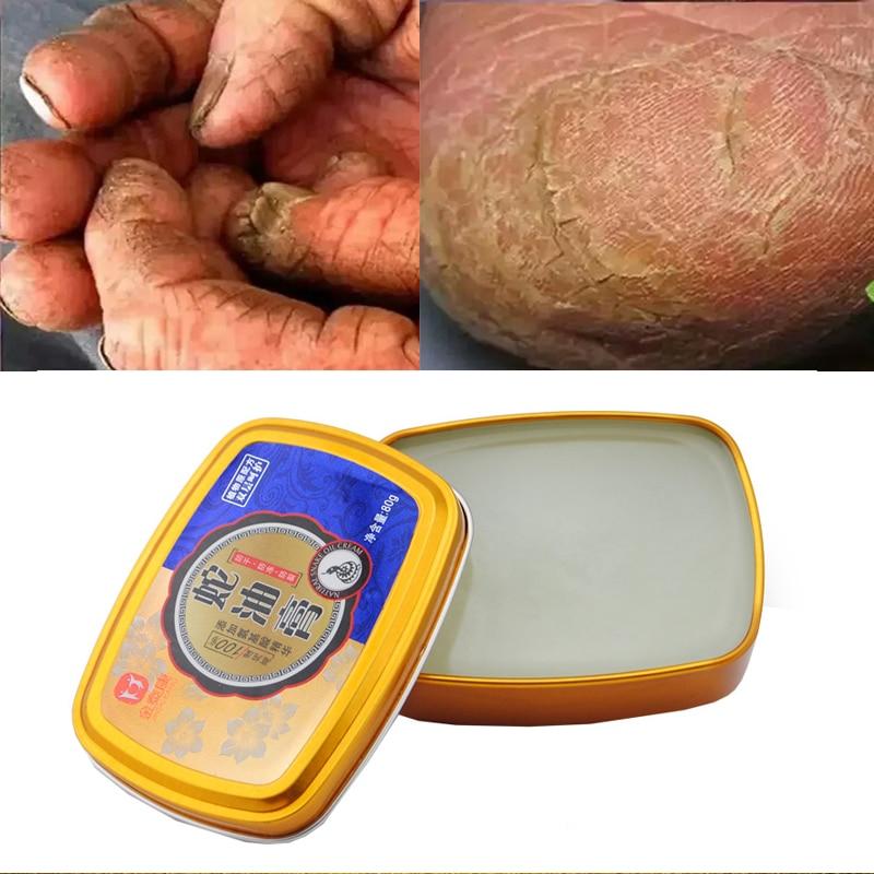 Snake Oil Tender Hand Cream Hand Care Antibacterial Anti-chapping Whitening Nourishing Anti-Aging Skin Care Cream 80g