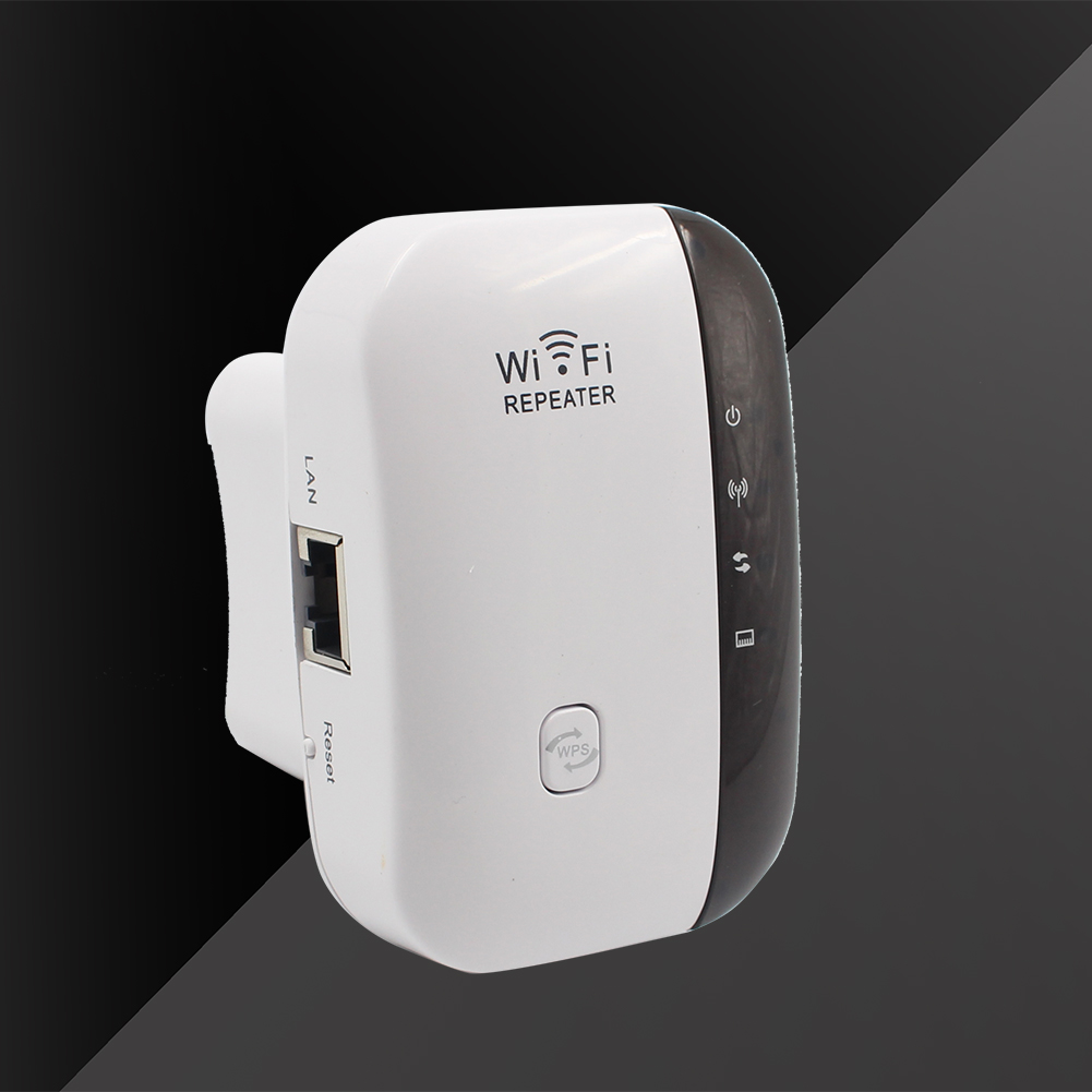 Wireless-N WiFi Repeater Signal Booster 802.11n/b/g 300Mbps Wi-Fi Range Router Roteador Extender Repeater Ap Wps Encryption