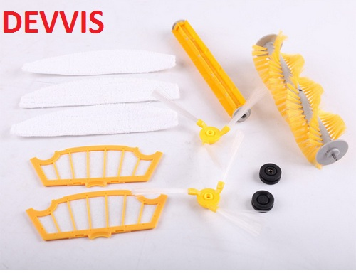 (For A320,A325,A335,A336,A337,A338)Accessories for Robot Vacuum Cleaner, Main Brush,Rubber Brush,Ring,Side Brush,HEPA Filter,Mop for a320 a325 a335 a336 a337 a338 accessories for robot vacuum cleaner main brush rubber brush ring side brush hepa filter mop