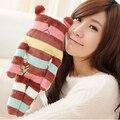 CRAFTHOLIC шоколад Полосатый красочные медведь S размер 37 см плюшевые куклы подушки подушки мило любовь бесплатная доставка
