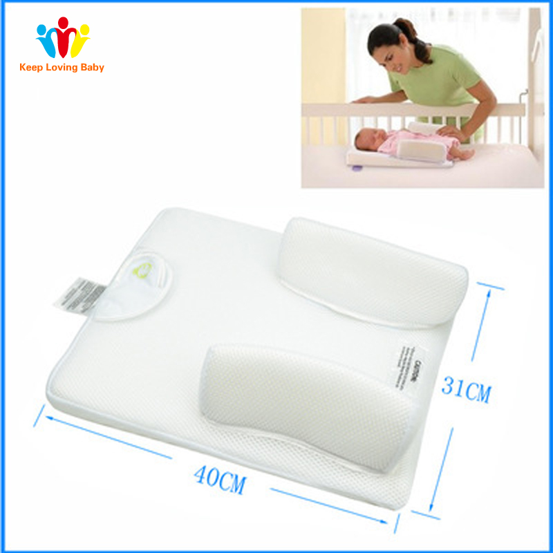 Newborn Infant Sleep System Prevent Flat Head Ultimate Vent Fixed Positioner  Baby Pillow