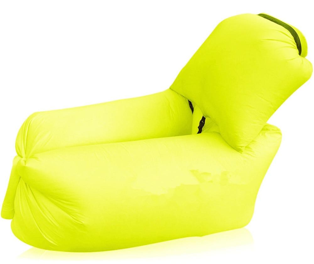 New Portable Air Couch Camping Sleeping Bag Beach