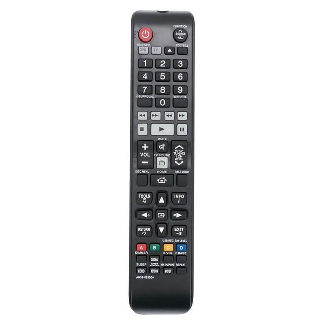 New Ah59 02550a Remote Control Fit For Samsung Home Theater Ht F450k