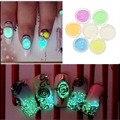 Glitter Nail Art Sticker Luminoso Pegatinas DIY Decoración de Las Extremidades de Acrílico Manicura